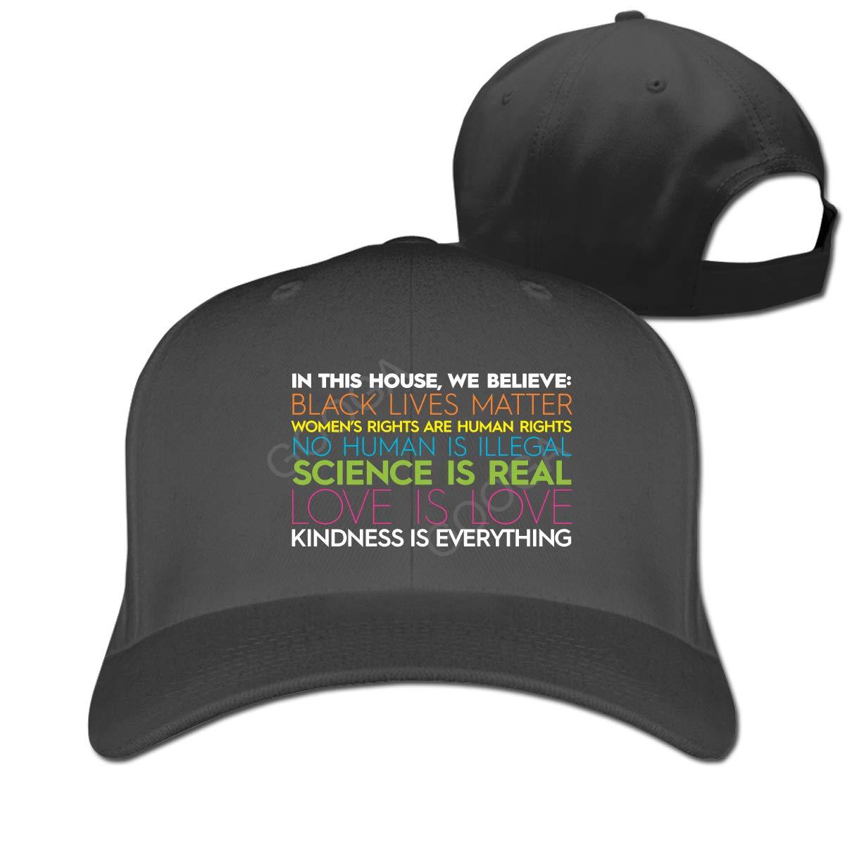 Black Lives Matter Fashion Adjustable Cotton Baseball Caps Trucker Driver Hat Outdoor Cap Black