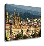 Ashley Canvas, Cathedral Of Santiago De Compostela Spain, 24x30