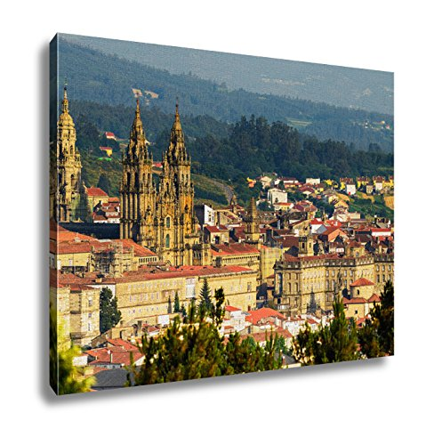 Ashley Canvas, Cathedral Of Santiago De Compostela Spain, 24x30 by Ashley Canvas