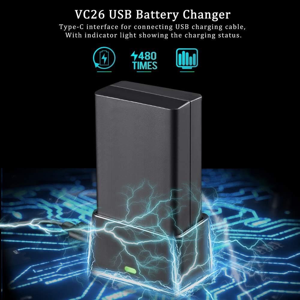 GODOX V1 VB26 Bater/ía de Ion de Litio para V1-S V1-C V1-N V1-F V1-O Series Flash