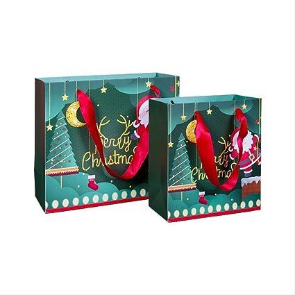 3 Piezas Bolsa De Regalo De Navidad Bolsa De Cumpleaños Con Caja ...