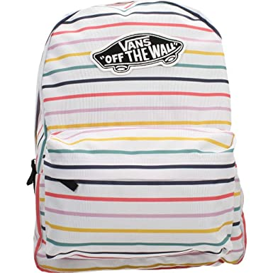 c879e2bd95 Mochila Vans Realm Party Stripes  Amazon.es  Ropa y accesorios