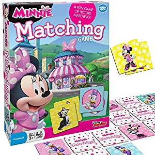 Wonder Forge Disney Junior Minnie Matching Game,Multi-colored