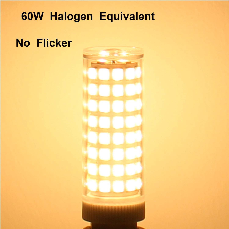 60W Halogen G9 Led Bulb Equivalent Non-Dimmable 110V 7W Warm White 3000K for Light Fitting 4 Pack 100 X 2835 SMD Energy Saving Light Bulbs Mechok G9 LED Bulbs