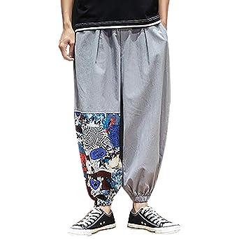 Sunnywill - Pantalones Vaqueros de Verano para Hombre, Pantalones ...