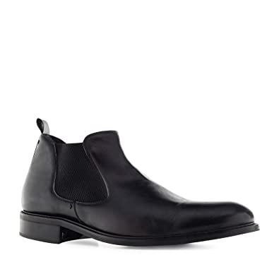 3d4f02bf5b6636 Andres Machado.21085.Chelsea Boots in Leather.Men s Large Sizes UK 12 to 14    EU 47 to 50.Made in Spain.  Amazon.co.uk  Shoes   Bags