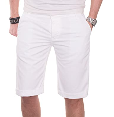 b652c785373c A. Salvarini Herren Shorts Kurze Sommer Hose Chino Short Bermuda AS020   Amazon.de  Bekleidung