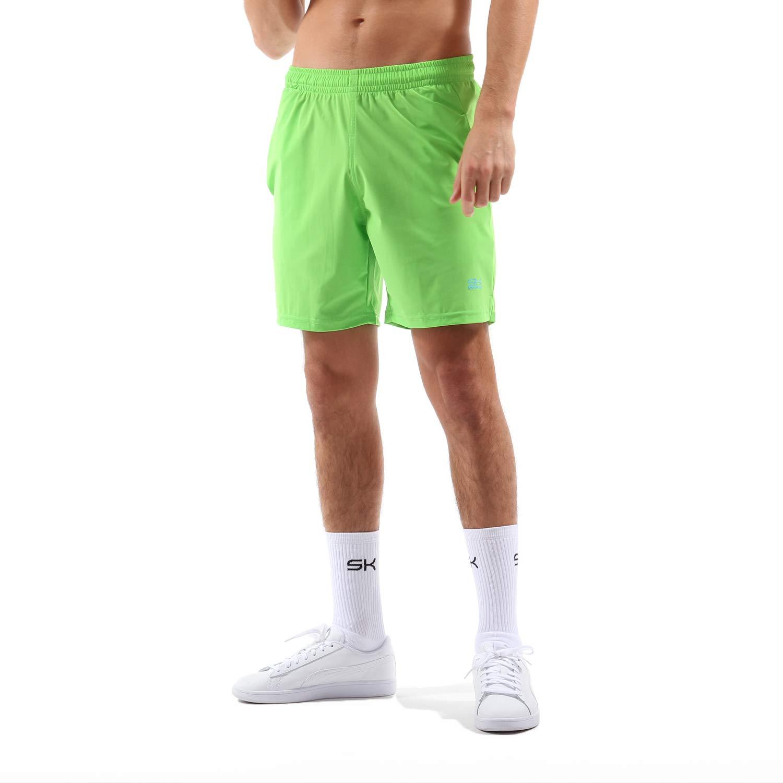 Sportkind Jungen & Herren Tennis/Training / Sport Shorts Regular, hellgrün, Gr. L