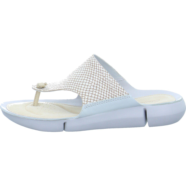 CLARKS Clarks Womens Sandal Tri Carmen Metallic 7.5 D