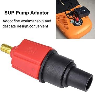 hudiemm0B Pump Valv-e Nozzles 4 in 1 Air Valv-e Adapter Connector Inflatable Boat Board Su-p Kayak Pump Nozzle