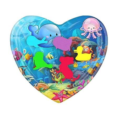 Hamkaw - Colchón Hinchable para niños con Forma de corazón, 60 x ...