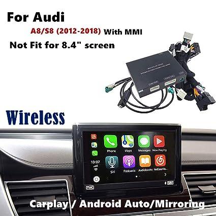 Amazon com: Wireless Carplay Android Auto Multimedia System