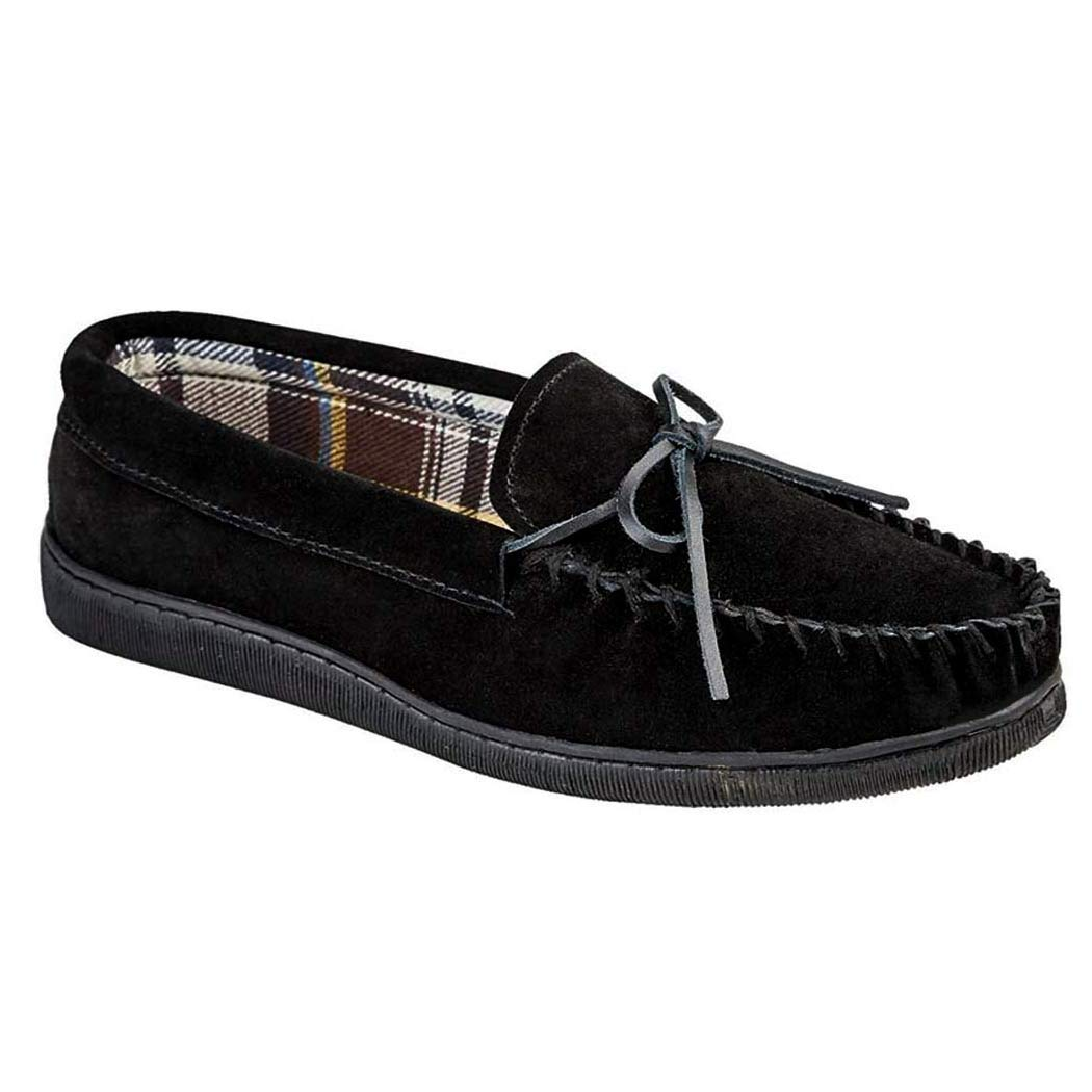 c62018e1797 Mens Jo   Joe New England Real Suede Leather Moccasin Slippers Size 7-12   Amazon.co.uk  Shoes   Bags