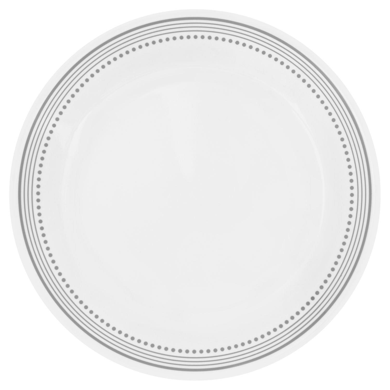 Corelle Livingware Mystic Gray 10.25'' Dinner Plate (Set of 4)
