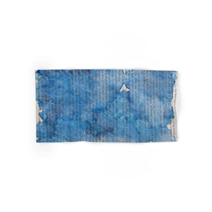 Society6 Deep Blues mano y toalla de baño, multicolor, Set of 4 (2