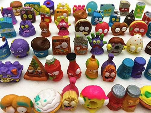 20Pcs/lot O for U Shop Original The Grossery Gang Mini Action Toys Figures Popular Kid's Playing Model Dolls Christmas Gift Toy]()
