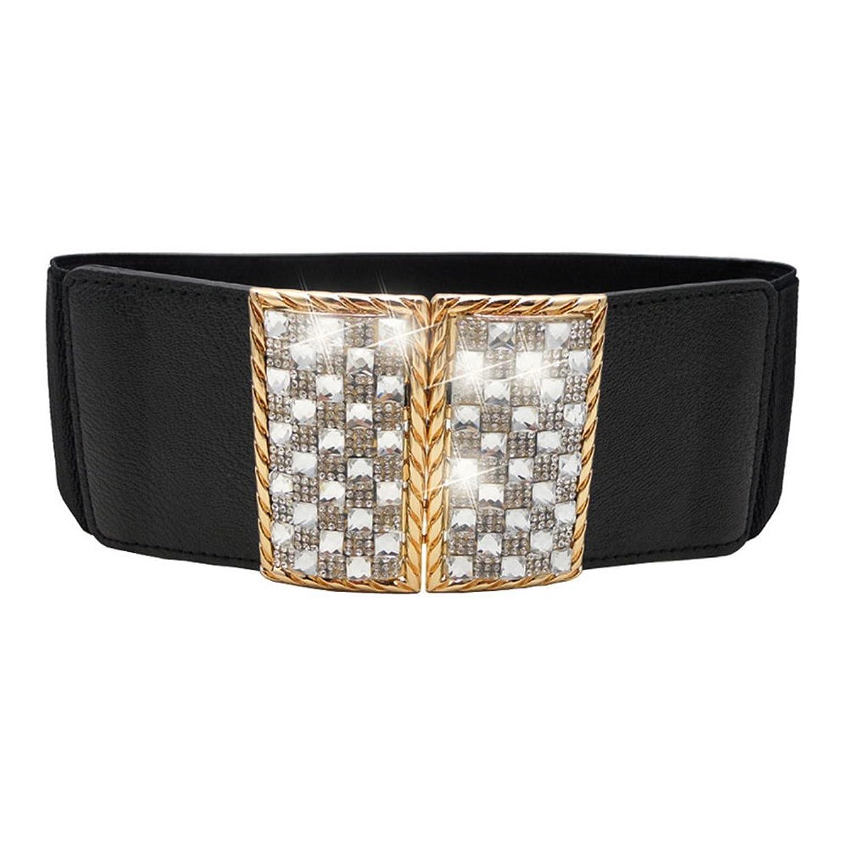 Sitong fashion diamond inlaid decorative elastic waistband