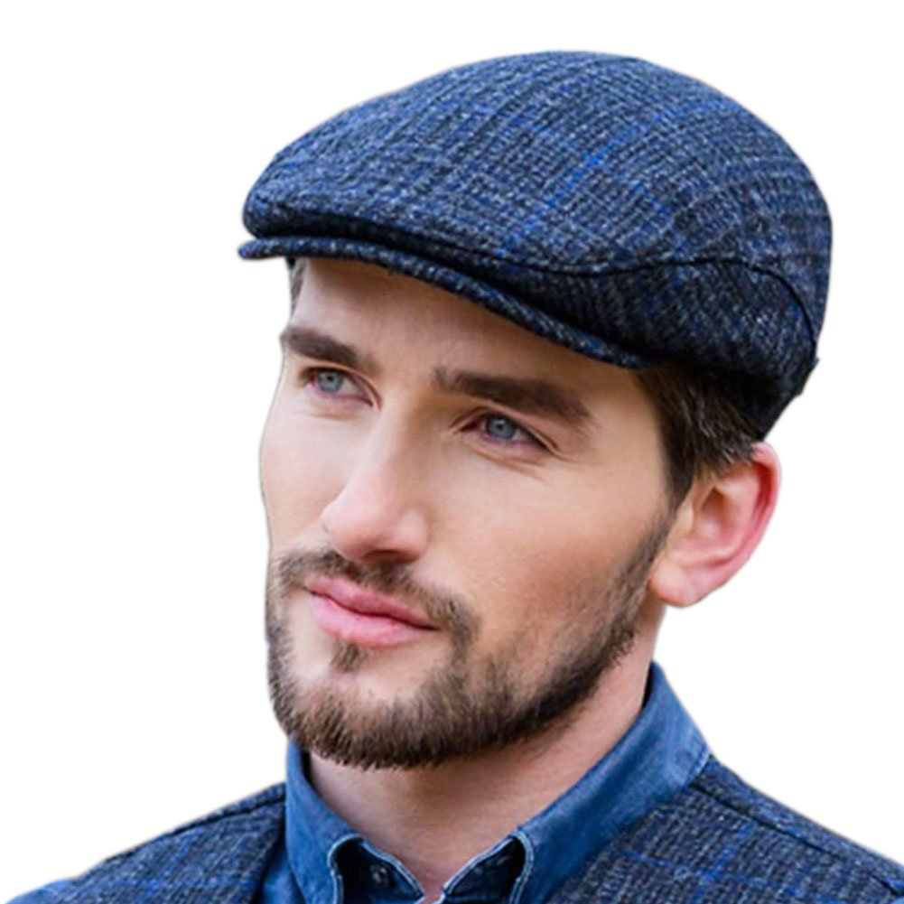 Mucros Weavers Police Tweed Flat Cap - Thin Blue Line at Amazon Men s  Clothing store  4a8109cfe875