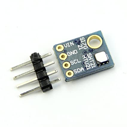 Feamos Si7021 Industrial High Precision Humidity Sensor with I2C Interface  for Arduino