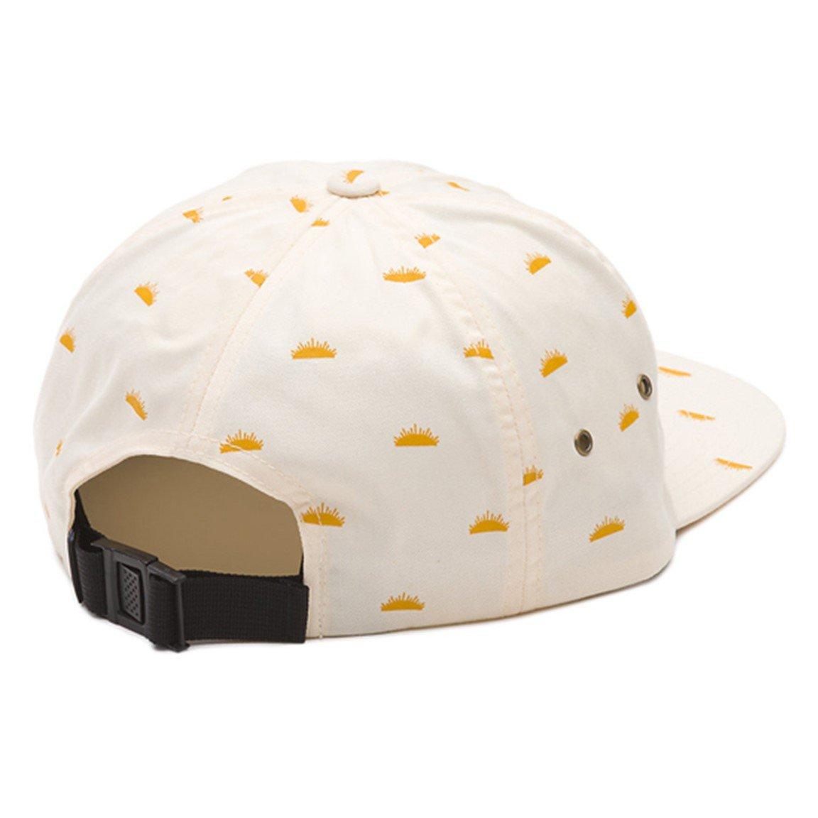 c5091c785d6 Vans Off The Wall Men s Salton Strapback Hat Cap - Creme Del Sol at Amazon  Men s Clothing store
