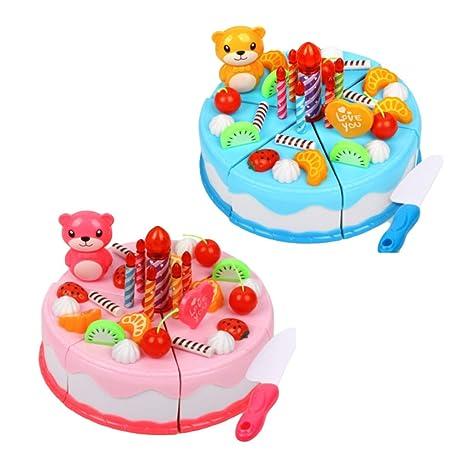FXCO 38 piezas/juego todo bueno para cumpleaños pasteles ...