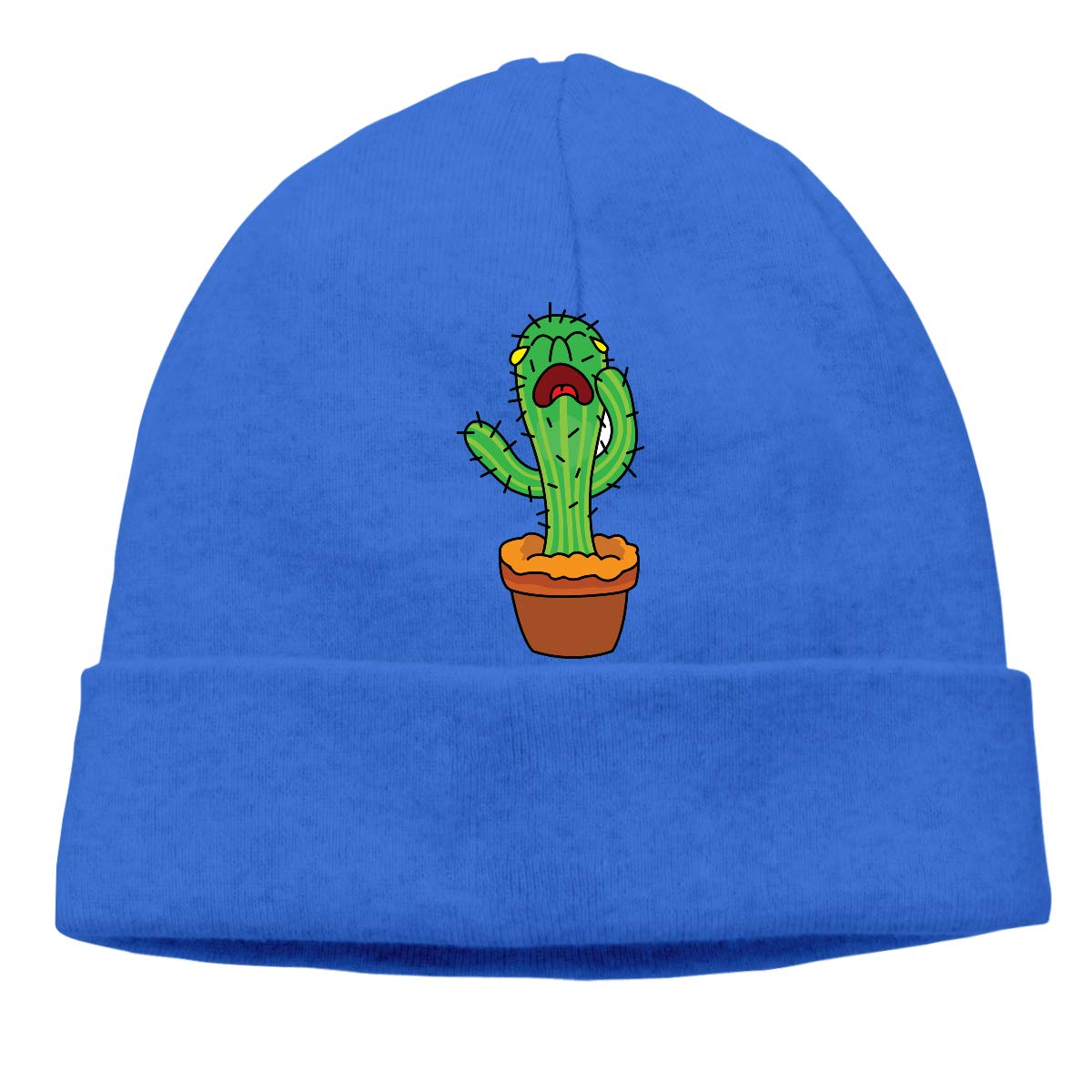 BBlooobow Men Women Cactus Drawing Soft Knit Hats