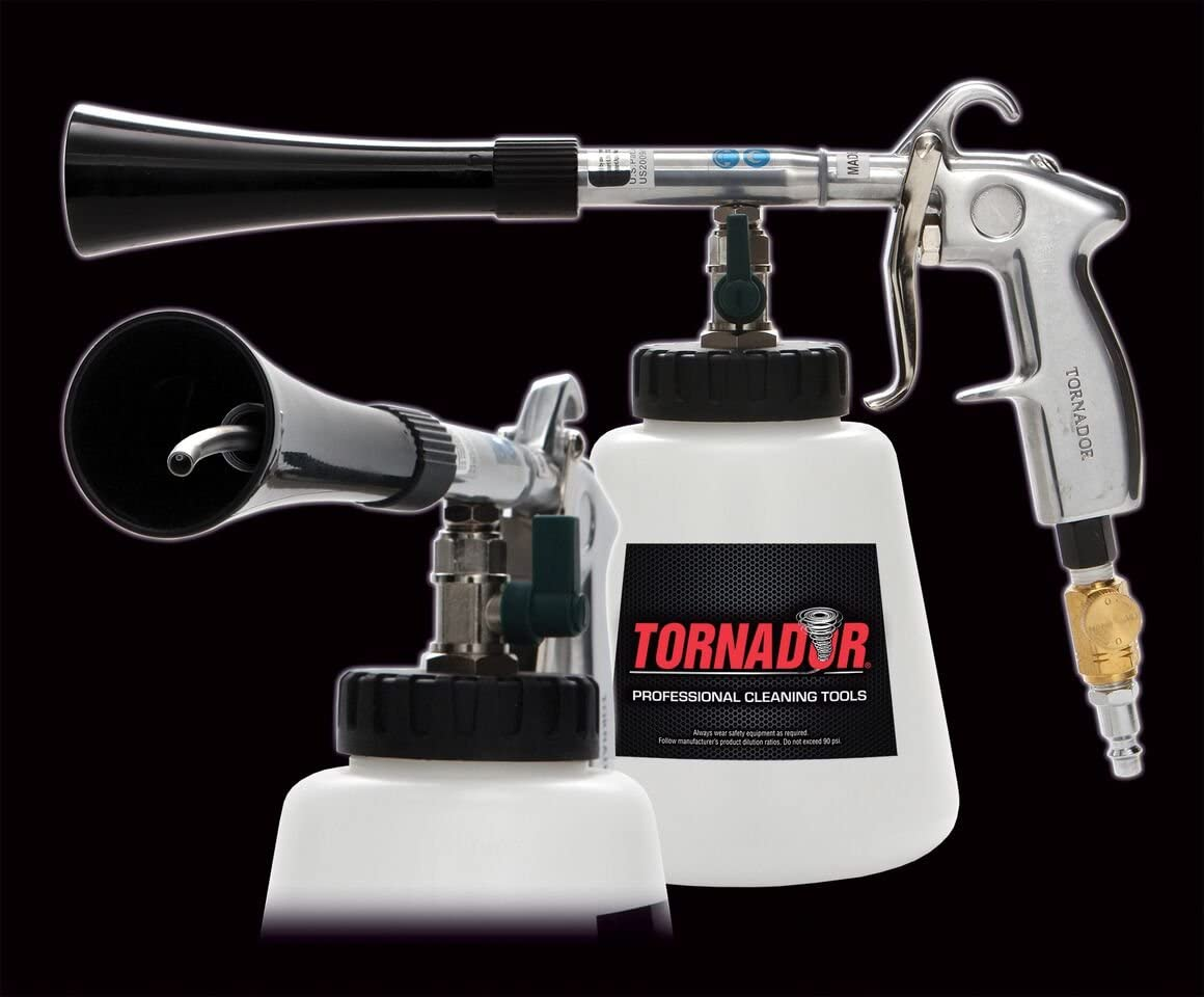 Tornador Black Auto Reinigung Pistole Auto