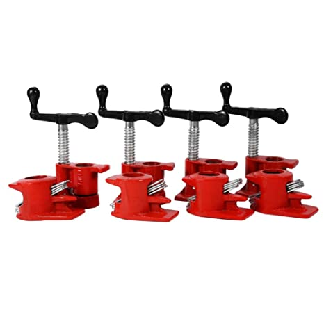 Excellent Woodworking Workbench 3 4 Quick Release Heavy Duty Wide Base Iron Wood Metal Clamp Set 4 Set Wood Working Vise Lamtechconsult Wood Chair Design Ideas Lamtechconsultcom