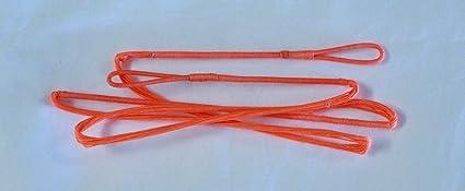 "60X Custom Strings 54/"" 58 AMO 18 Strand Red Dacron B50 Recurve Bowstrings Bow"