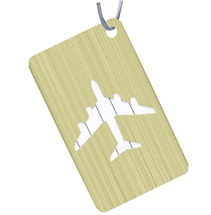 Elegante equipaje etiqueta maleta etiqueta viaje equipaje señalización, Verde-1