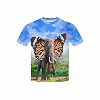 XS-XL INTERESTPRINT T-Shirt in Youth