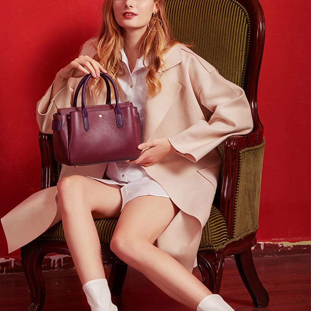 023860561fa3 Amazon.com: LLMLCF Leather Handbags New Women's Bag Fashion First ...