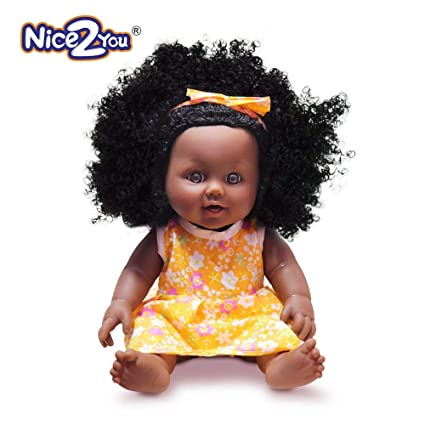 Amazon Com Nice2you Black Girl Dolls African American Play Dolls