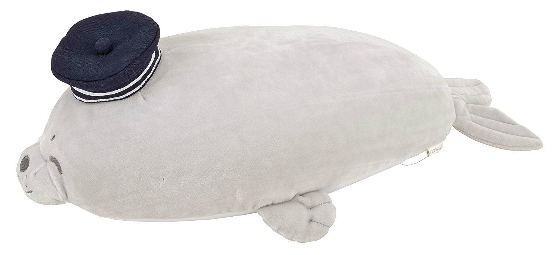 LivHeart Premium Nemu Nemu Animals Cool Body Pilow Size M Guu The Seal 48452-71 from Japan