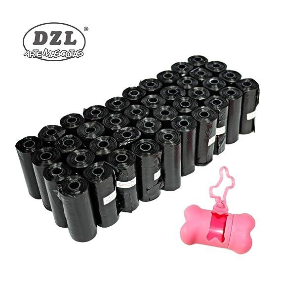 DZL Bolsas para excrementos de Perro 20/40/60 Rollos Total 300/600/900 Bolsas Poop Bag para Perro Mascotas Animales Domésticos (300)