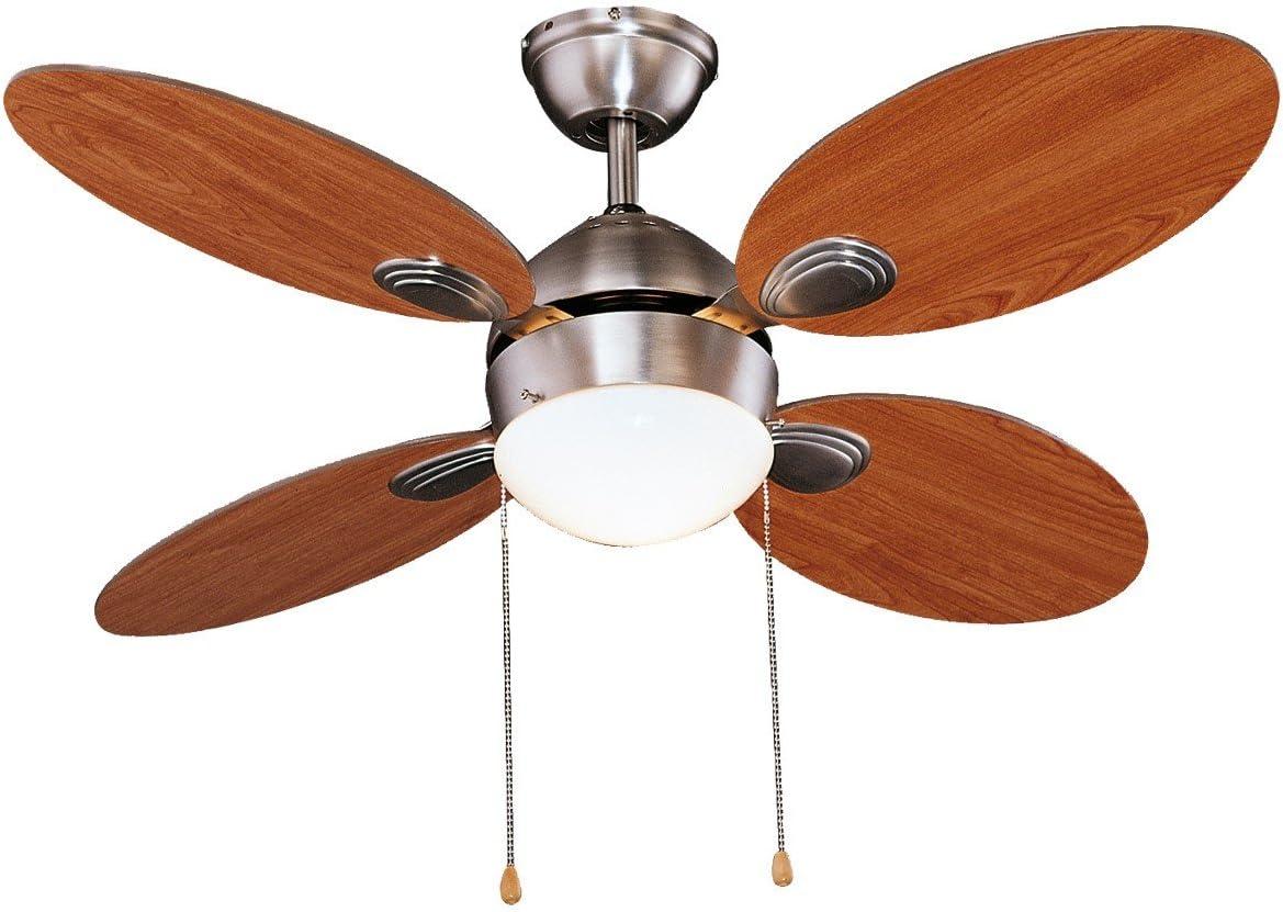 Leroy Merlin Lampadari Con Ventilatore.Ventilatore Da Soffitto Diametro 107 Cm 3 Velocita 4 Pale Amazon It Casa E Cucina