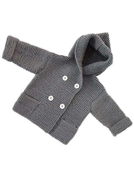 ARAUS Ropa de Abrigo Prendas de Punto con Capucha para Bebe Niños Niñas Suéter de Otoño 0-4 años: Amazon.es: Ropa y accesorios