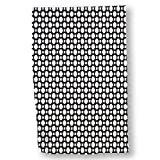 """Luxurious Microfiber Hand Towel Multi-purpose Highly Absorbent Extra Soft Wash Cloth with Personalized """"Black Honeycomb"""" by Daniel Preston Custom Printed Hand Towels, 15.5"""" x 24.5"""""""