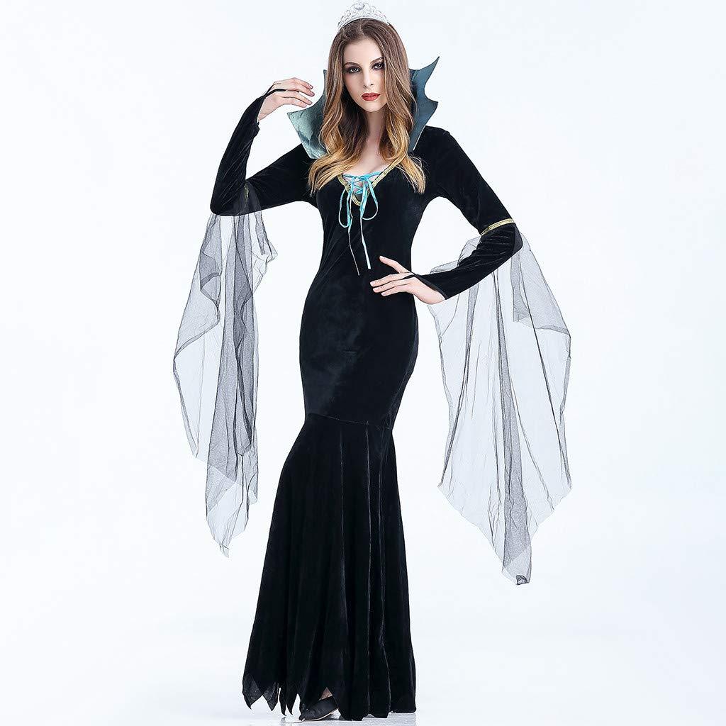Goosun Vestido Largo De Halloween para Mujer De Vestido Largo con ...