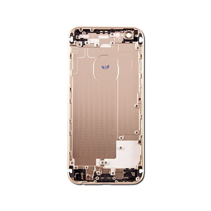 5d90c6f54 Amazon.com  Back Cover Housing Compatible with iPhone 6 Gold  Cell ...