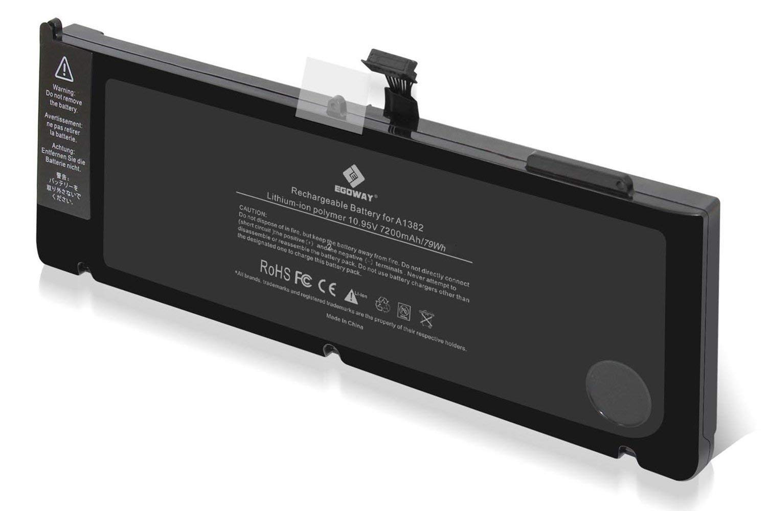 E EGOWAY Replacement Laptop Battery Compatible for MacBook Pro 15 inch A1382 A1286 Early and Late 2011, Mid 2012 by E EGOWAY (Image #2)