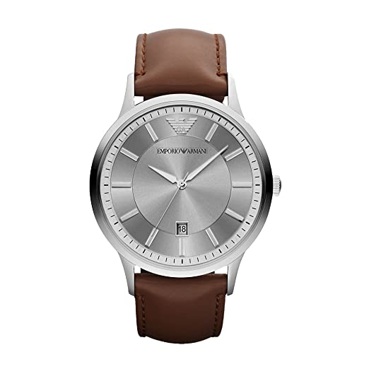 b0fb1516f8672 Buy Emporio Armani Chronograph Gunmetal Men s Dial Watch-AR2463 Online at  Low Prices in India - Amazon.in