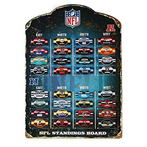 "- Party Animal NFL Magnetic Standings Board 13.5"" x 18.5"""