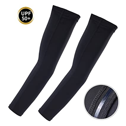 UV Protection Arm Sleeves with Anti-Slip Tattoo Covers Athletic ...