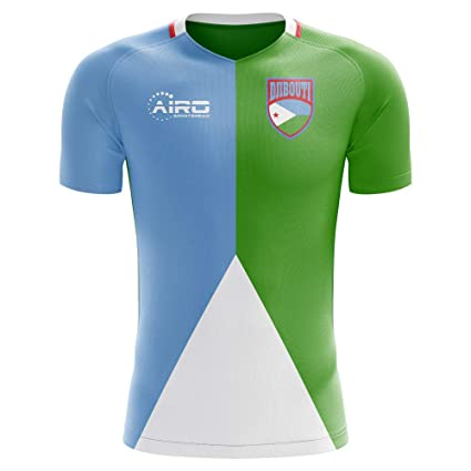 fb08b2345 Amazon.com : Airo Sportswear 2018-2019 Djibouti Home Concept Football  Soccer T-Shirt Jersey : Sports & Outdoors