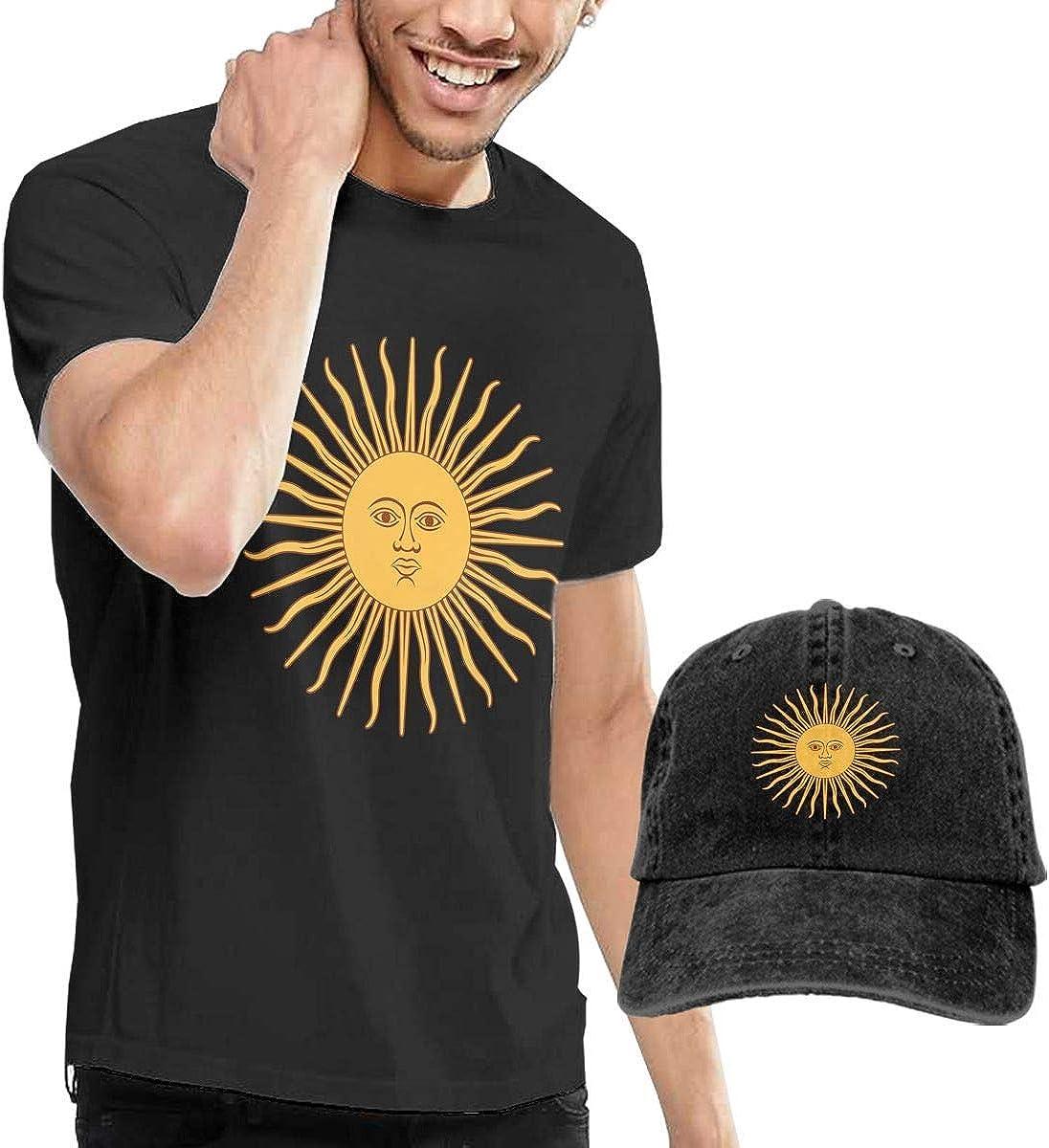 Camisetas y Tops Hombre Polos y Camisas, Flag Argentina Sun Short ...