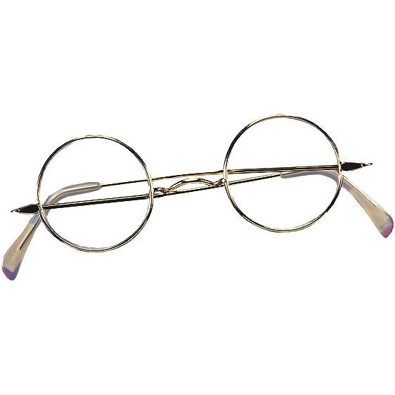 972e7138099 Amazon.com  Round Wire Rim Glasses Costume Accessory  Clothing