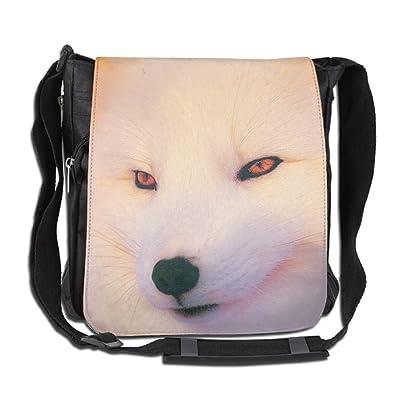 Arctic Fox Pattern Fashion Outdoor Lightweight Backpack Single Shoulder Crossbody Bags For Men & Women