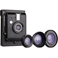 Lomography Lomo'Instant Black Edition + 3 Lenses - Instant Film Camera
