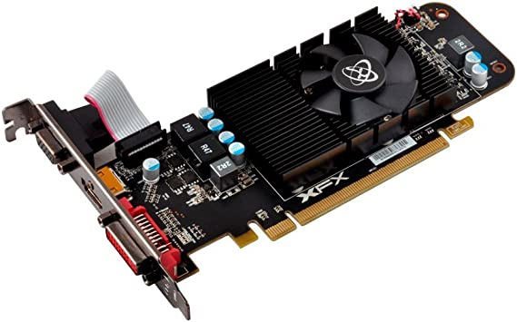 XFX AMD Radeon R7 240 2GB DDR3 VGA/DVI/HDMI Low Profile PCI-Express Video Card R7-240A-CLF2
